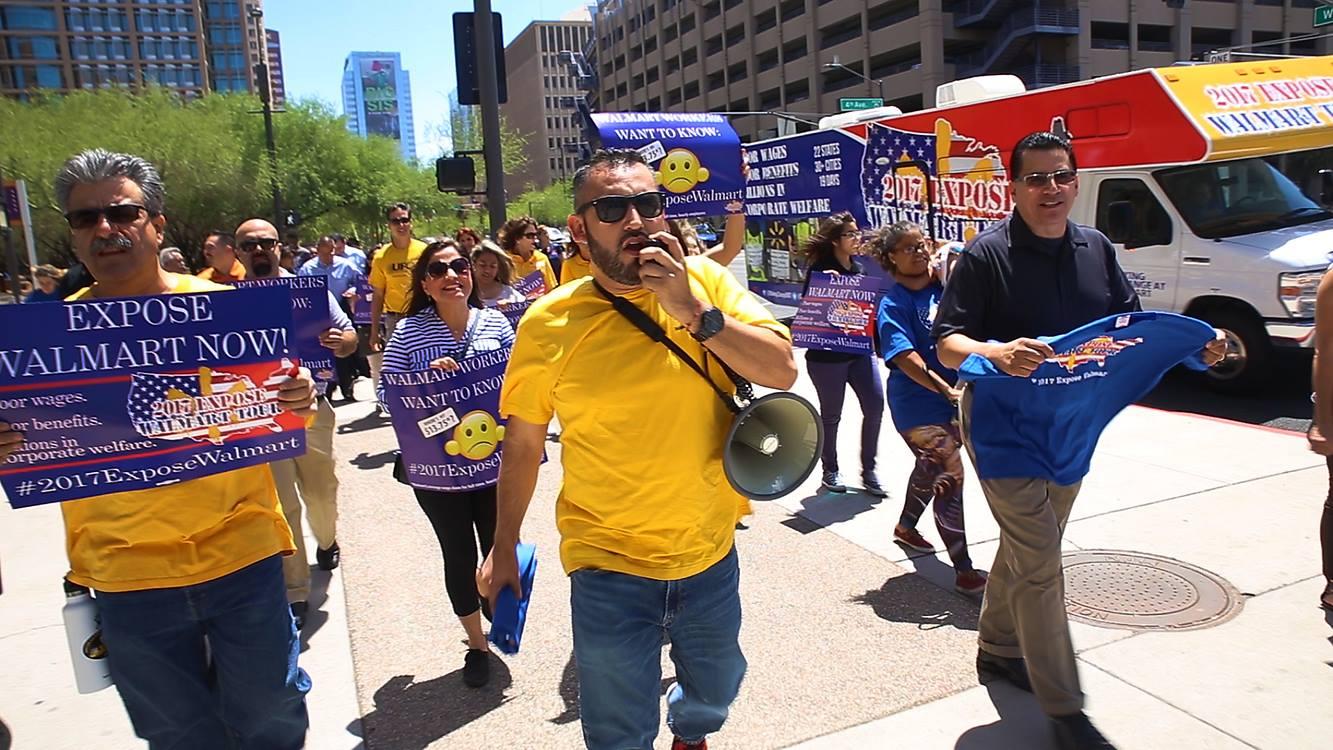 Union's 'Expose Walmart' tour launches in Phoenix