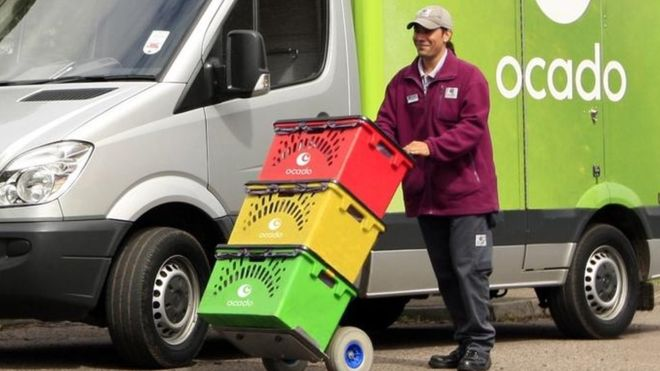 Ocado wages a grocery war against Amazon, Walmart and Alibaba