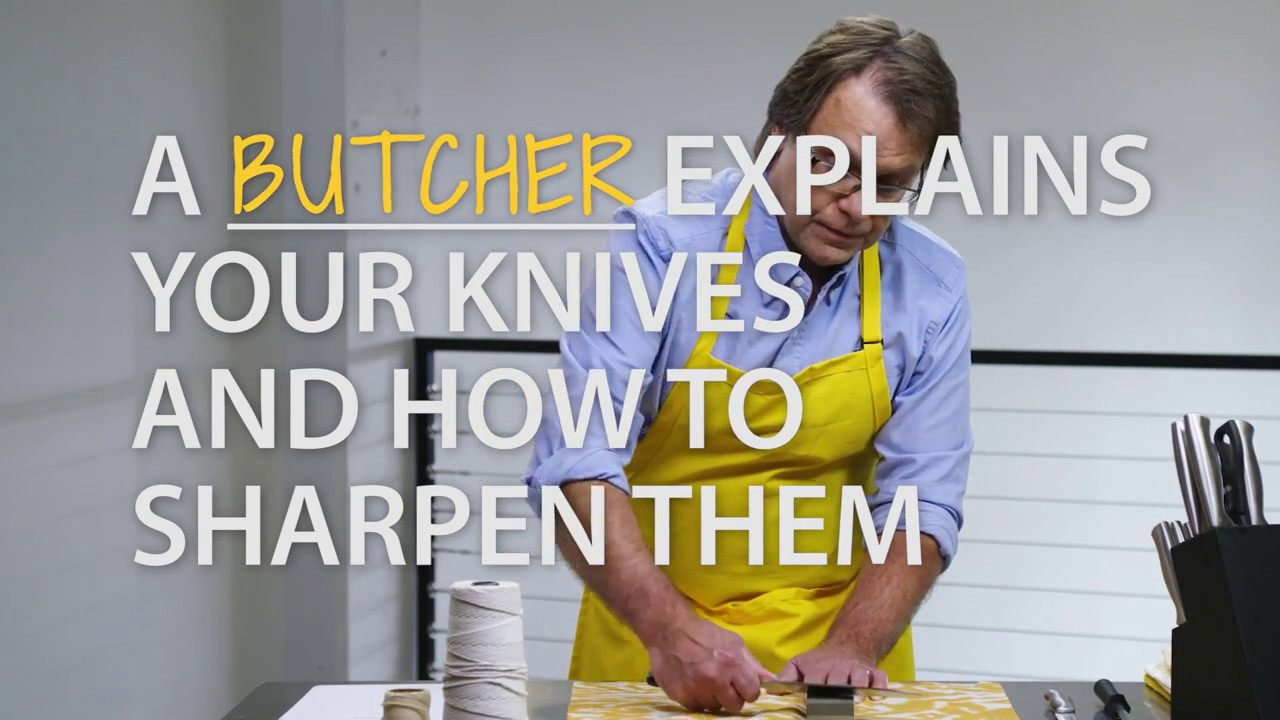 Make Your Kitchen Knives As Sharp As New (1 min)