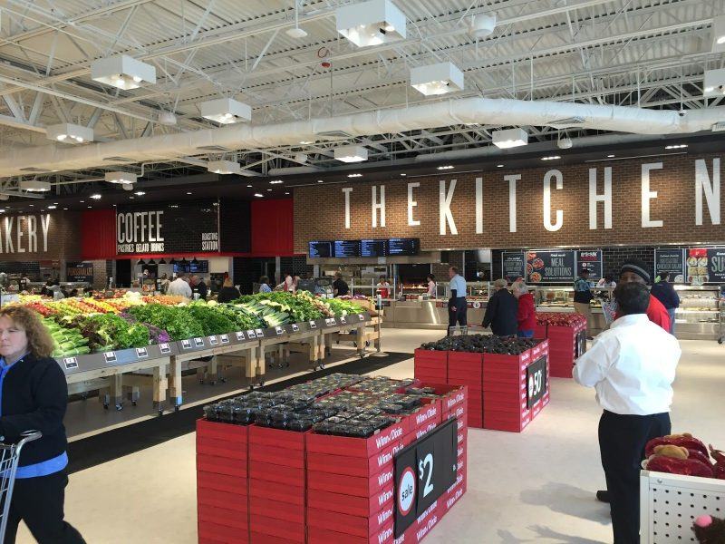 In-store concepts feeding customers' needs