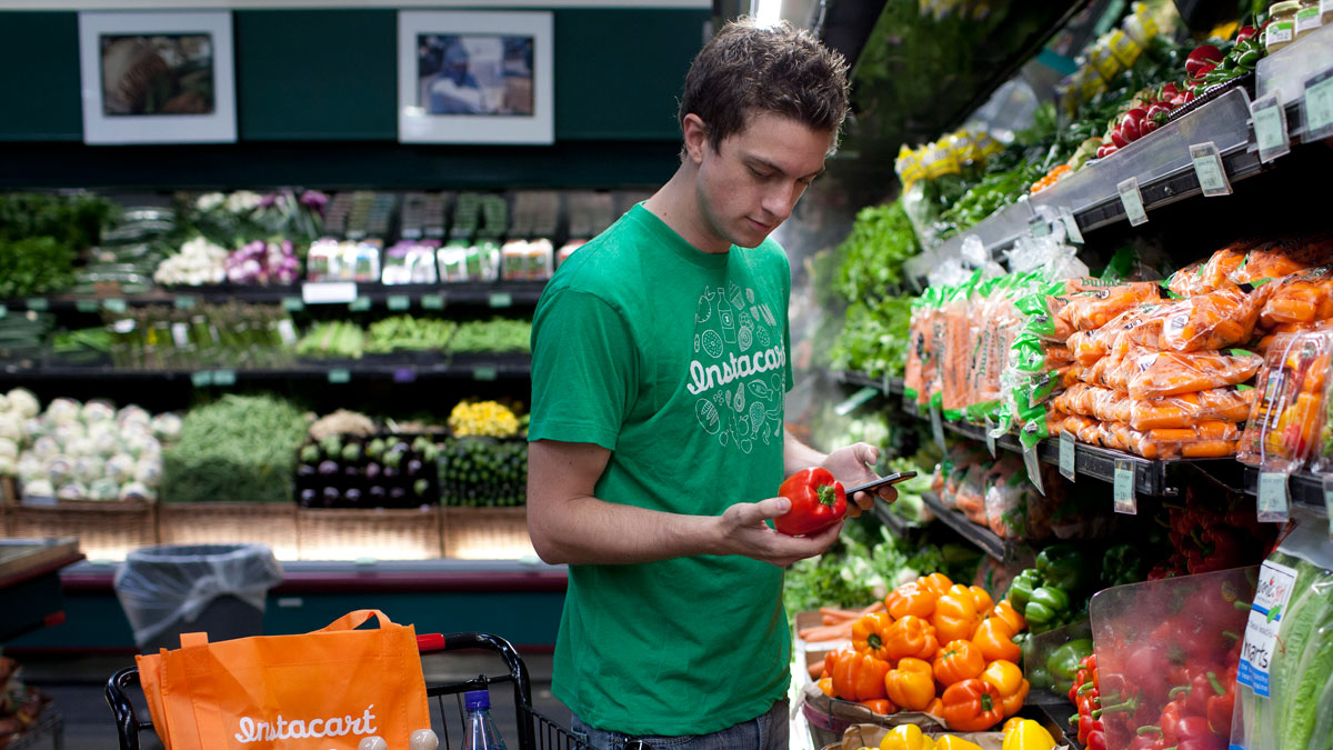 Grocery startup Instacart has raised nearly a billion in funding