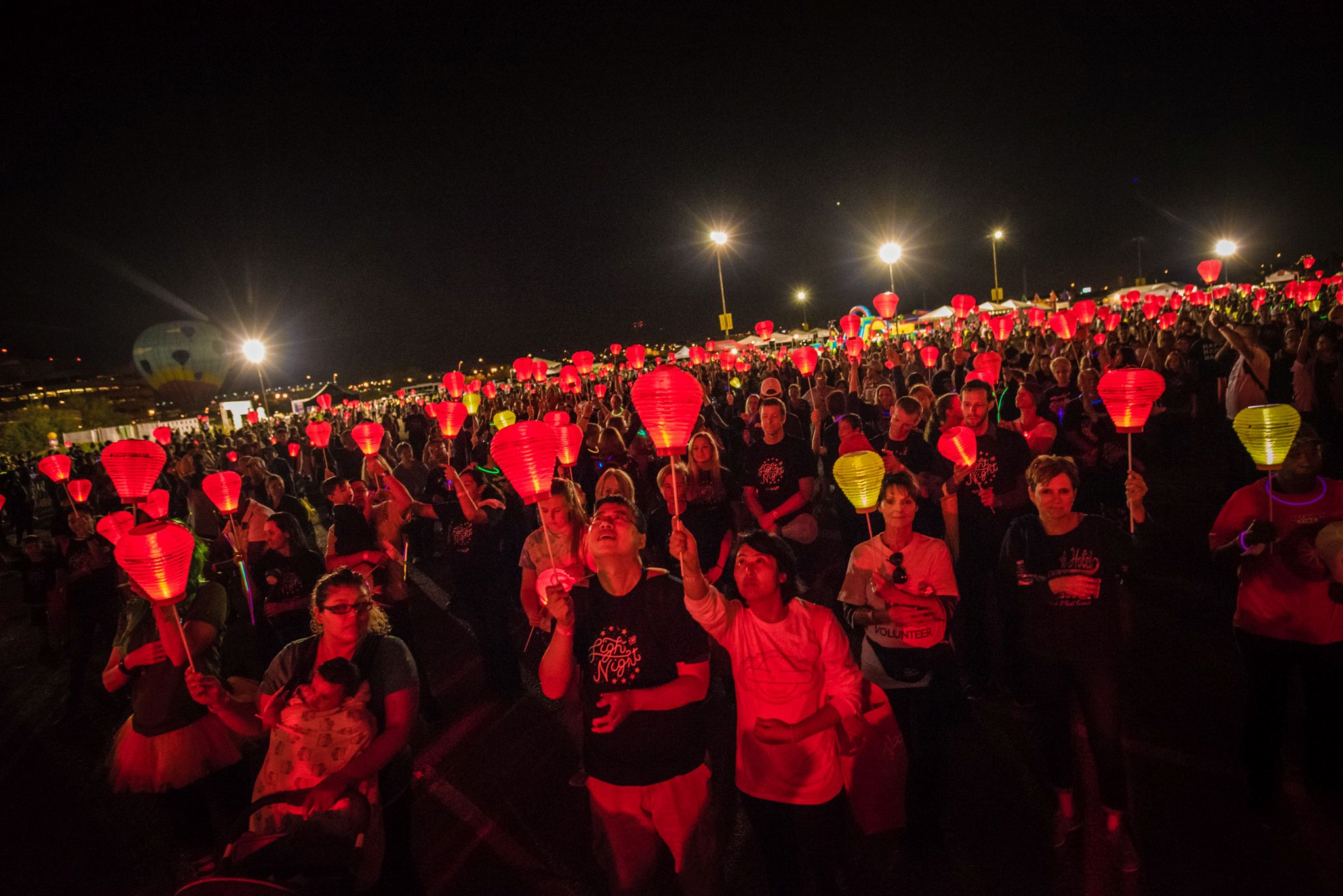 Help us 'Light the Night' to fight cancer