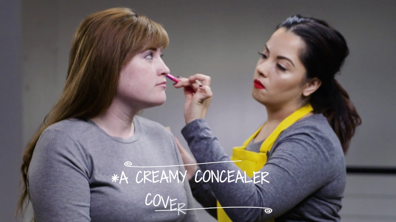 A Makeup Artist Shows You How to Conceal and Even Out Skin Tone (30 secs)