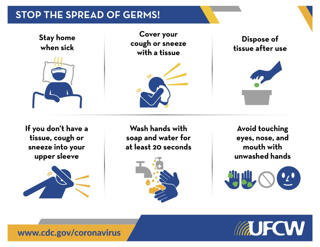 UFCW calls for action to protect workers and address economic impact of coronavirus