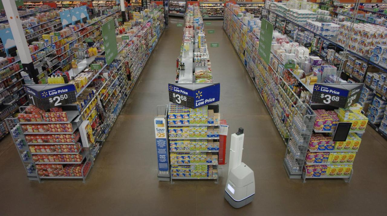 Walmart's New High Tech Small Supermarket