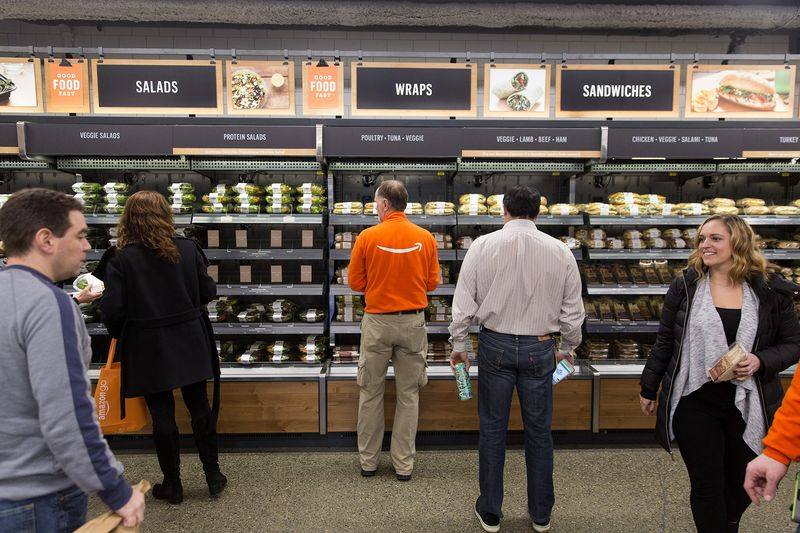 Amazon Is Planning to Open Cashierless Supermarkets Next Year