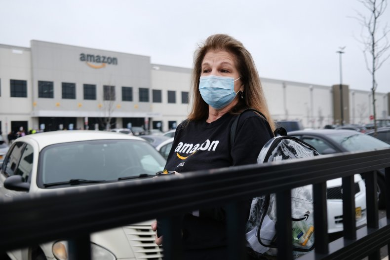 Nearly 20,000 Amazon workers suspected of having coronavirus in US, company reveals