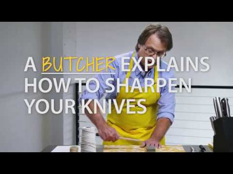 Make Your Kitchen Knives As Sharp As New (30 sec)