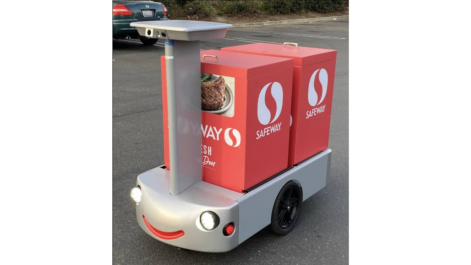 Safeway to test robot delivery