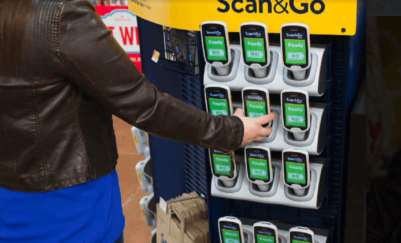 Walmart is taking a direct shot at Amazon and making checkout lanes obsolete