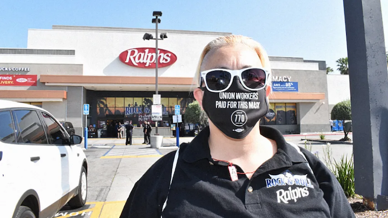 Supermarkets in L.A. County see unprecedented coronavirus infection rates