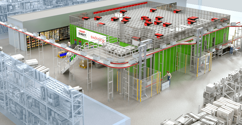 The Giant Company taps Swisslog to automate e-commerce fulfillment center