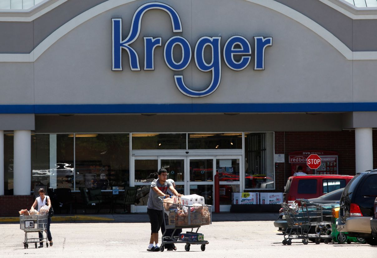 Kroger, not Walmart, is Amazon's toughest grocery price rival