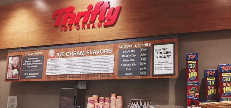 What will Albertsons do with Thrifty ice cream after Rite Aid merger?