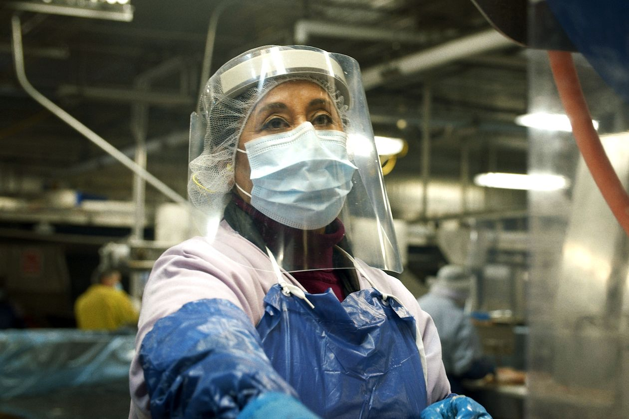 Union says meatpacking workers should be vaccinated sooner